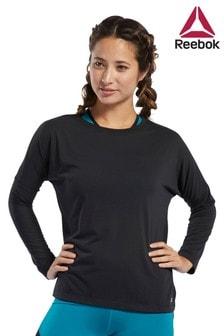 חולצת טי Workout Ready עם שרוול ארוך של Reebok