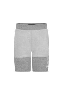 Guess Boys Grey Cotton Shorts