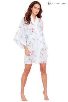 B By Ted Baker Blue Blossom Kimono