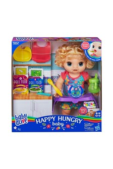 Baby Alive Happy Hungry Baby - Blonde Hair