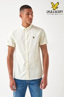 Lyle & Scott Gingham Check Short Sleeve Shirt