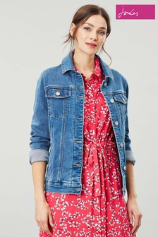 Joules Blue Arkley Relaxed Denim Jacket