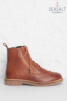 Seasalt Brown Conwenna Boots