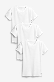 Rib T-Shirts Three Pack (1.5-16yrs)