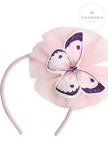 Charabia Blue Butterfly Hairband