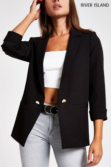 River Island Black Ritchie Jacket