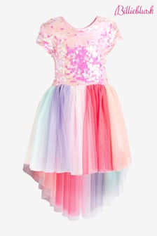 Billie Blush Sequin Rainbow Dress