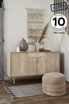 Amsterdam Light Textured Large Sideboard