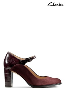 Clarks Red Kaylin Alba Shoes