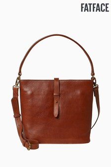 FatFace Brown Aubery Bucket Bag