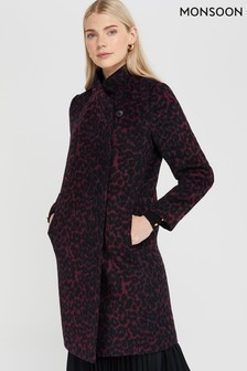 Monsoon Purple Aisha Animal Smart Coat