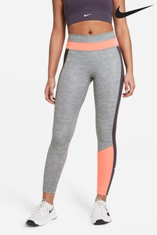 Nike One Colour Block 7/8 Leggings