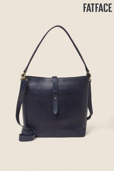 FatFace Blue Aubery Bucket Bag