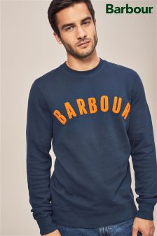 Barbour® Navy Prep Logo Sweat