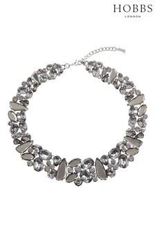 Hobbs Silver Tone Bella Necklace