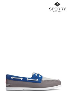 Sperry Blue Authentic Original PLUSHWAVE Boat Shoes