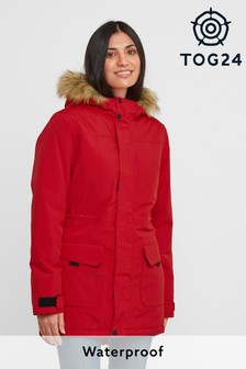 Tog 24 Womens Red Alderidge Waterproof Parka