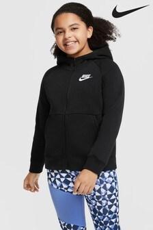 Nike Kids Plus Premium Essentials Zip Through Hoodie