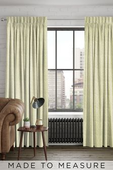 Noah Apple Green Made To Measure Curtains