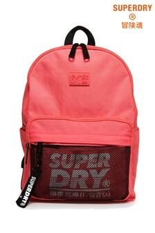 Superdry Mesh Pocket Backpack And Pencil Case