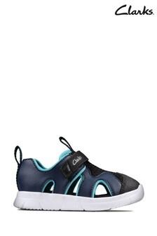 Clarks Navy Ath Surf T Sandals