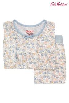 Cath Kidston® Kids White Mews Ditsy Jersey Pyjamas