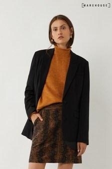 Warehouse Animal Snake Cord Pelmet Mini Skirt