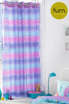 Little Furn Mermaid Eyelet Curtains by Furn