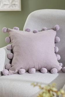 Pom Pom Edge Cushion