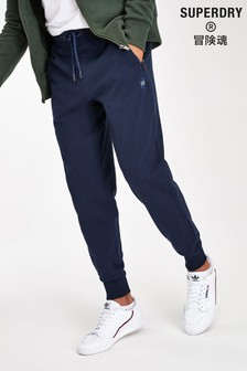Superdry Navy Collect Joggers