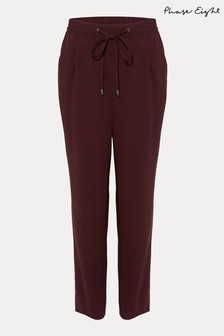 Phase Eight Red Anika Joggers