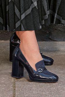 Trim Platform Loafers