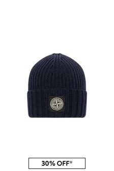 Boys Navy Beanie Hat