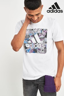 adidas Doodle Badge Of Sport T-Shirt