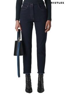 Whistles Dark Blue Authentic Slim Leg Jeans