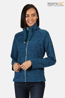Regatta Blue Zaylee Full Zip Fleece Jacket