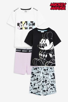 2 Pack Mickey Mouse™ Short Pyjamas (9mths-8yrs)