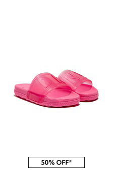 DKNY Girls Pink Sandals