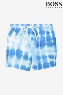 BOSS Blue Sunfish Swim Shorts