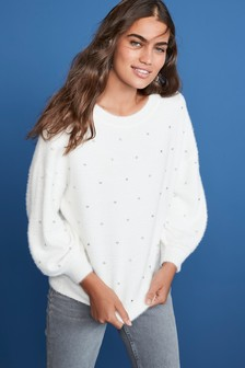 Scatter Embellished Jumper