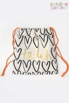 Caroline Gardner Tadah Drawstring Bag