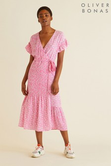 Oliver Bonas Mix & Match Wrap Dress