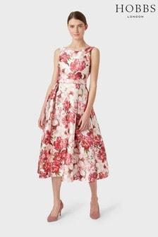 Hobbs Pink Valeria Dress
