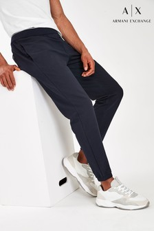 Armani Exchange Navy Trousers