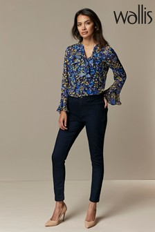 Wallis Blue Petite Indigo Jeggings