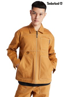 Timberland® Twill Contrast Stitch Workwear Jacket