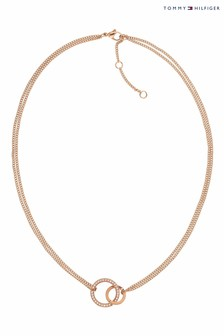 Tommy Hilfiger Ladies Open Circle Necklace