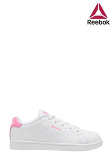 Reebok White/Pink Royal Junior & Youth Trainers