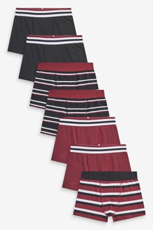 7 Pack Stripe Trunks (2-16yrs)