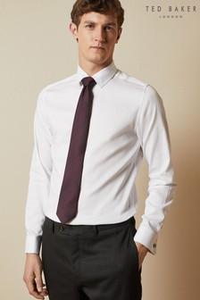Ted Baker White Jackman Cotton Shirt